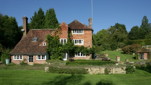 The House at Pooh Corner: Cotchford Farm, previously owned by both author A.A. Milne and musician Brian Jones, is up for sale with Savills.